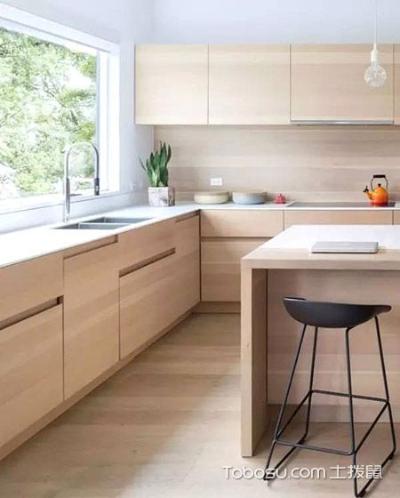 日式风格厨房装修效果图_装修图片