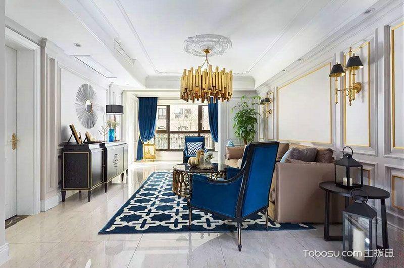 2020新古典150平米效果圖 2020新古典別墅裝飾設計