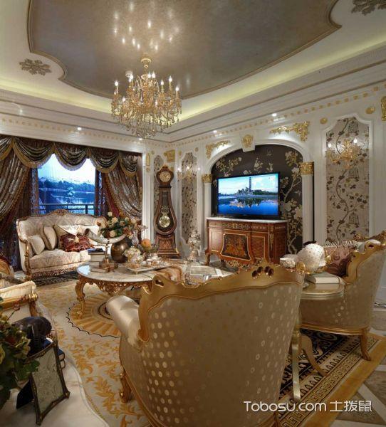 别墅142平米欧式风格装修
