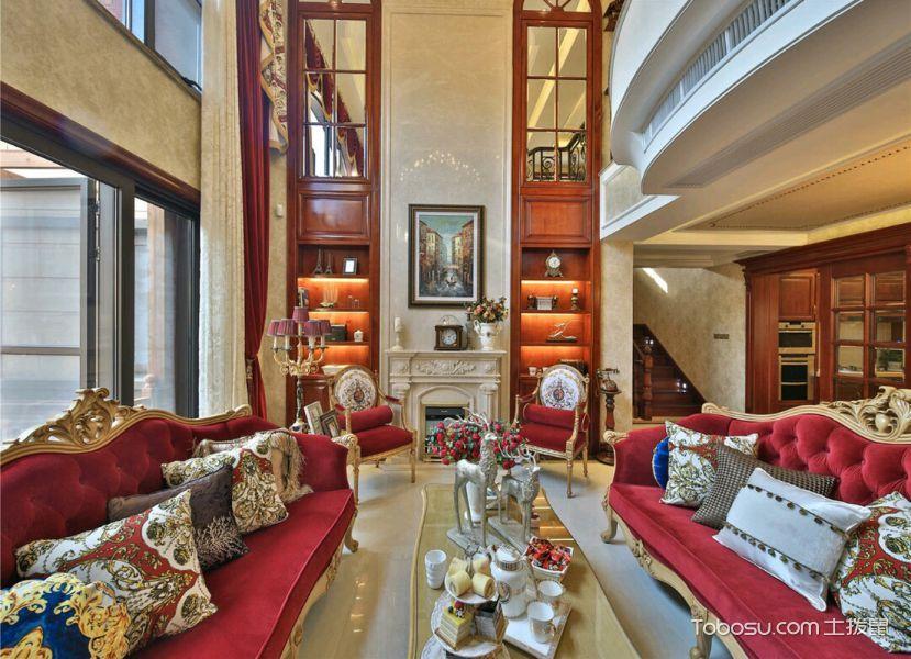 别墅300平米欧式风格装修