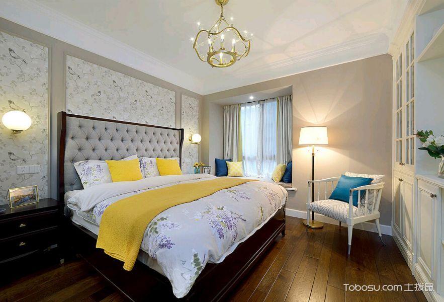美式风格小户型88平米家装设计