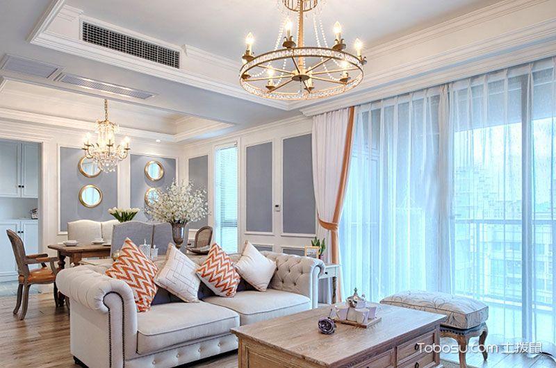 2019法式客厅装修设计 2019法式沙发装修设计