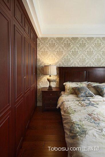 2019美式卧室装修设计图片 2019美式衣柜装修效果图片