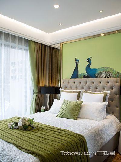 绿色活力自然风情 78平现代三居室_装修图片