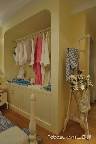 浪漫唯美小美式风格两居装潢设计_装修图片