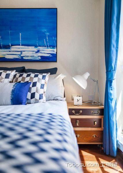 蓝色海洋主题现代家_装修图片