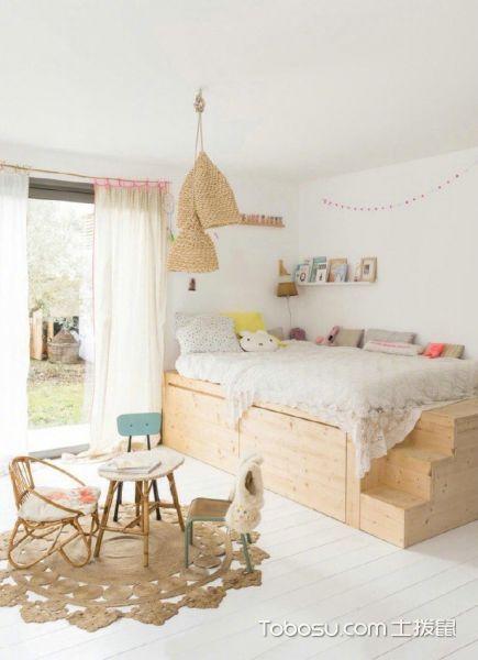 宽敞明亮的北欧朴素木质调住宅_装修图片