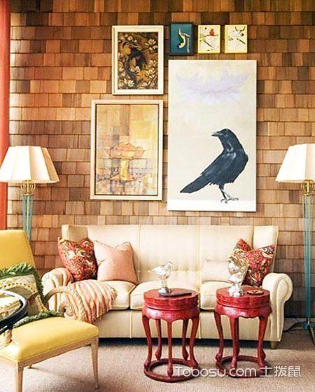 客厅照片墙设计效果图_装修图片