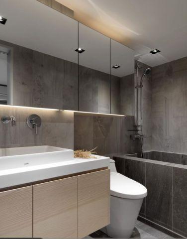 卫生间浴室柜简约装潢设计图片