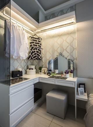 现代卧室梳妆台设计图片