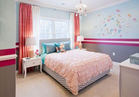 儿童房窗帘简约装修效果图欣赏