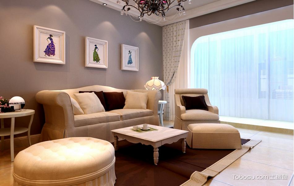 简约风格小户型90平米室内装饰