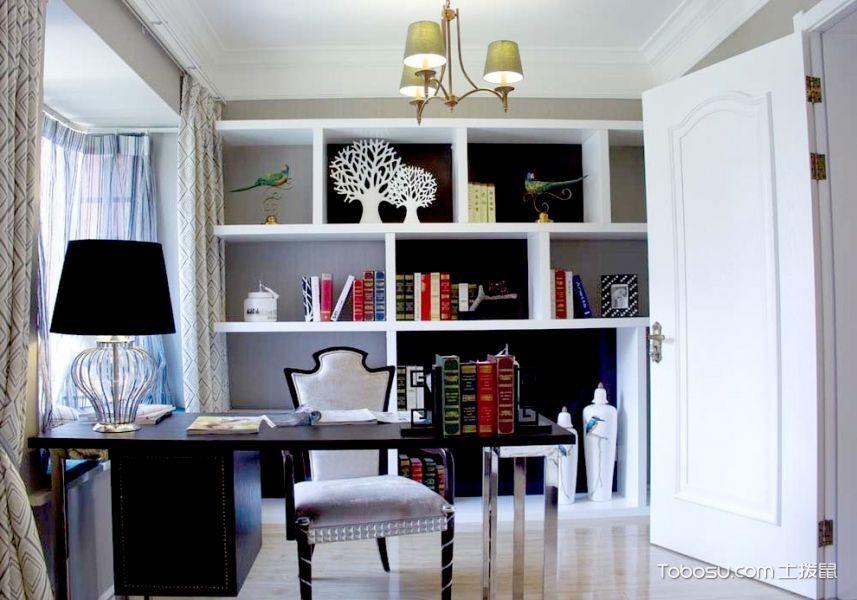 精致时尚的新古典三居装修设计_装修图片