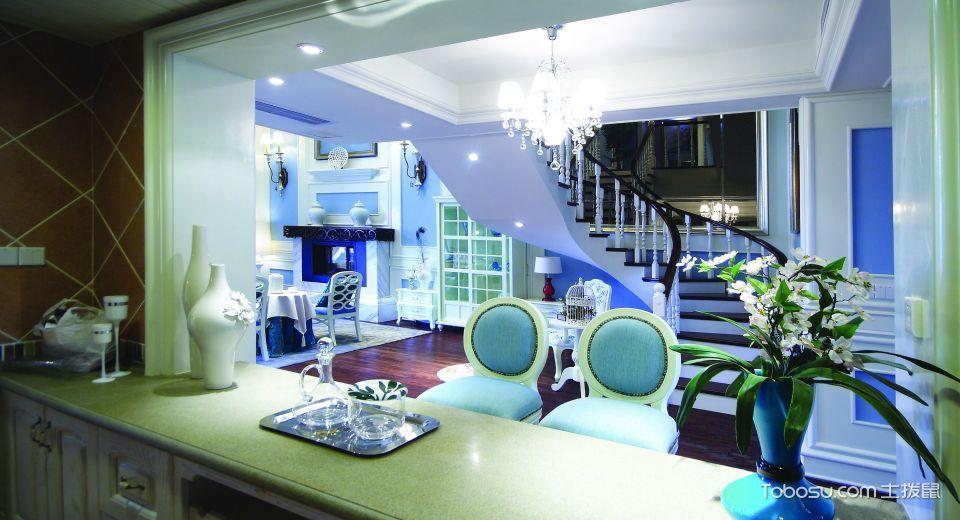 2021古典厨房装修图 2021古典吧台装修设计图片