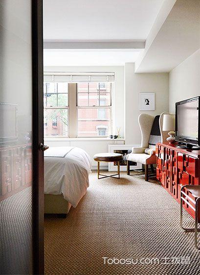 简约现代单身公寓装修装饰效果图_装修图片 - 装修效果图