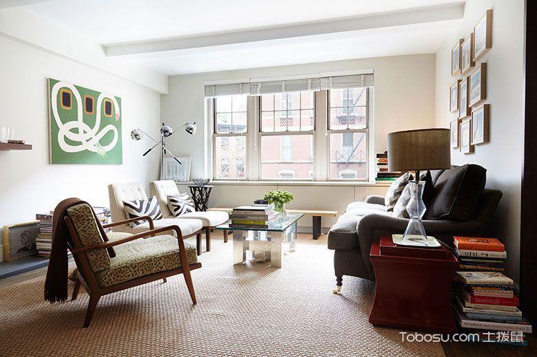 简约现代单身公寓装修装饰效果图_装修图片