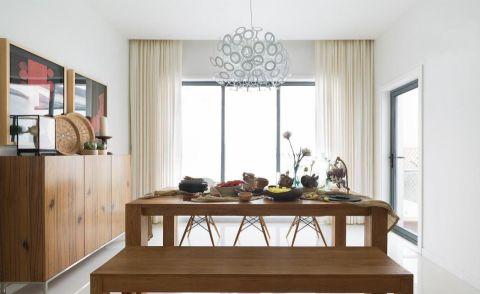 富麗餐廳窗簾室內效果圖