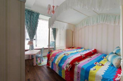设计优雅儿童房窗帘设计图片