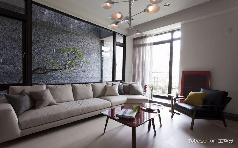 现代简约风格大户型160平米家装设计图