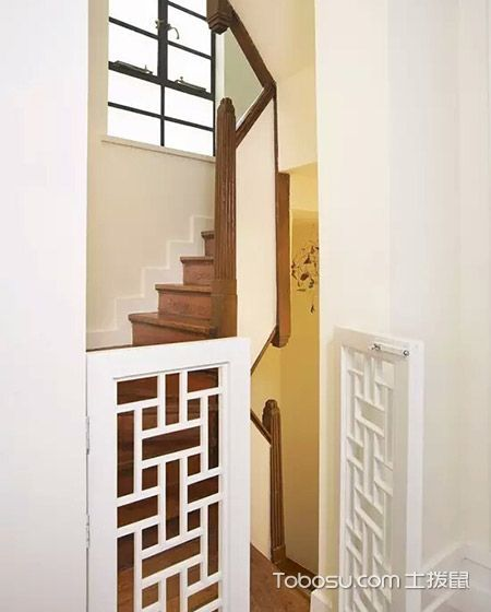 2020混搭玄关图片 2020混搭楼梯装修图