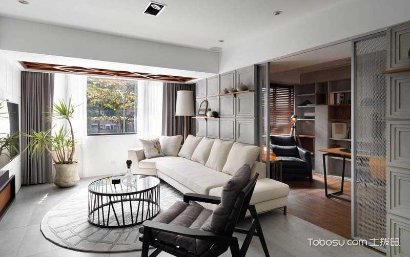 现代简约风格二居室170平米装修