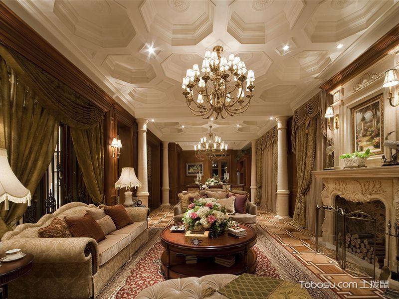 别墅261平米欧式风格装修