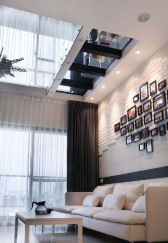 2019简约客厅装修设计 2019简约照片墙装修效果图大全