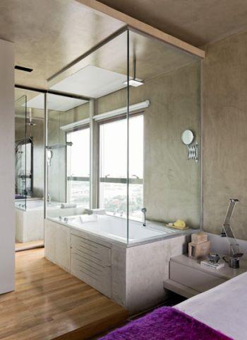 休闲灰色浴缸案例图片