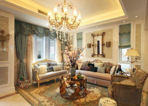 222平米别墅美式风格装修设计