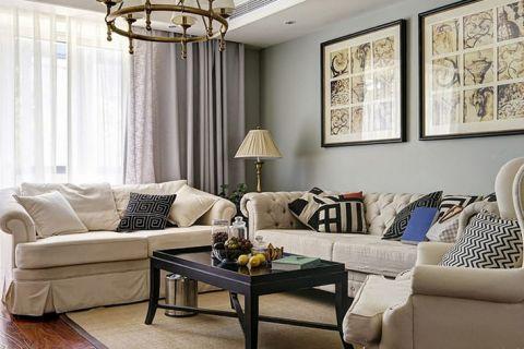 法式風格大戶型146平米室內裝飾