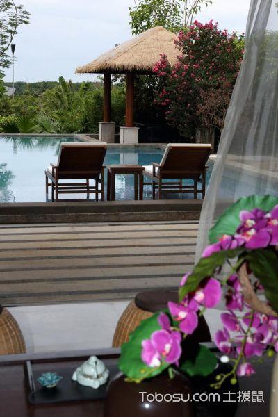 2020新中式花园设计图片 2020新中式泳池装修图片
