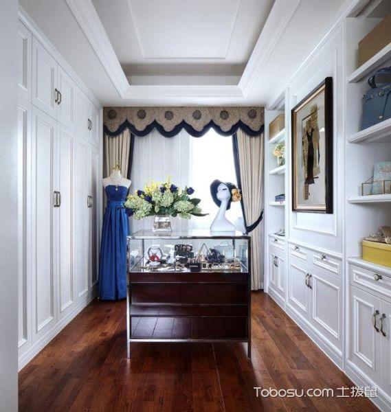 纯白遇上法式5室2厅 335平米简欧风格案例_装修图片 - 装修效果图