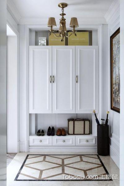 纯白遇上法式5室2厅 335平米简欧风格案例_装修图片