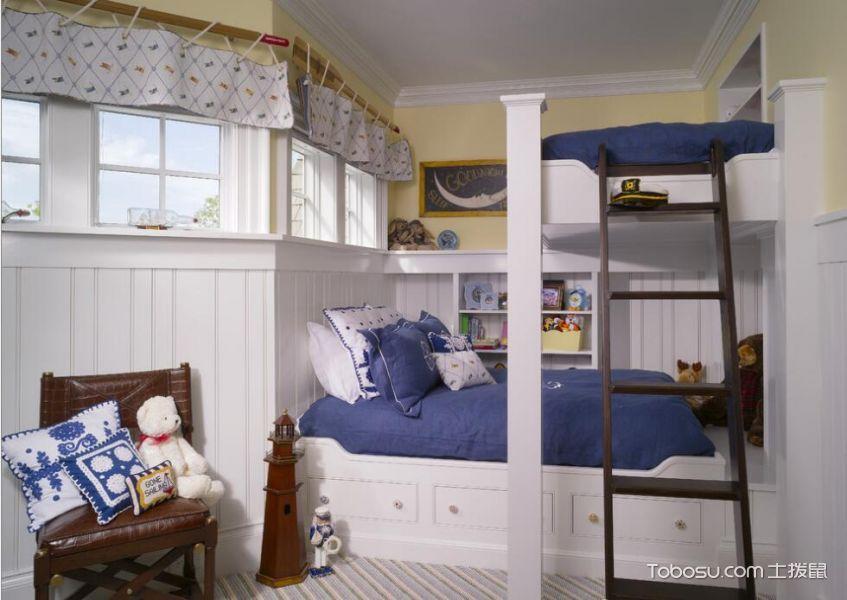 创意收纳儿童房——两个孩子的房间_装修图片