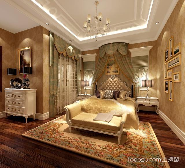 2021中式古典卧室装修设计图片 2021中式古典吊顶效果图