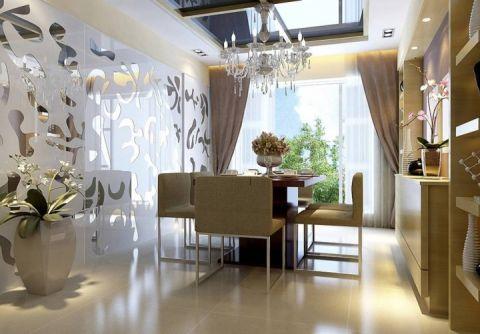 餐厅地板现代简约效果图图片