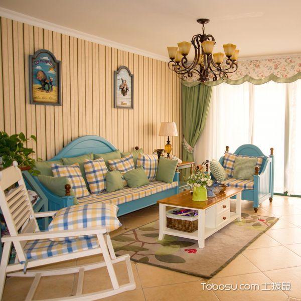 简约风格小户型82平米室内装饰
