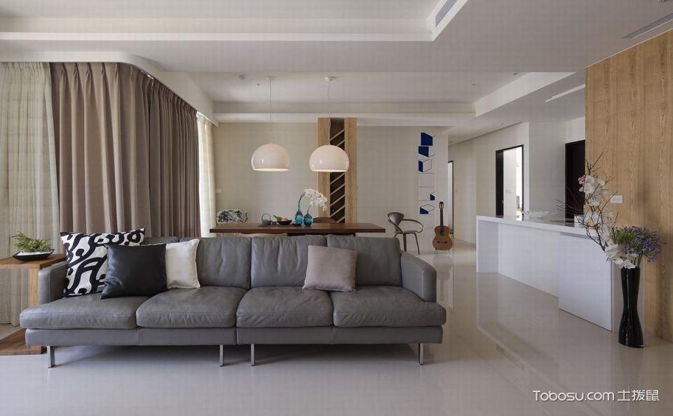 2020简约客厅装修设计 2020简约沙发装修设计