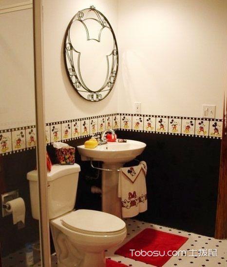 儿童卫生间装修装饰效果图_装修图片