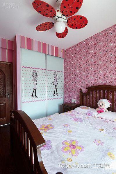 吊灯和吊顶缺一不可 16款儿童房吊顶欣赏 _装修图片