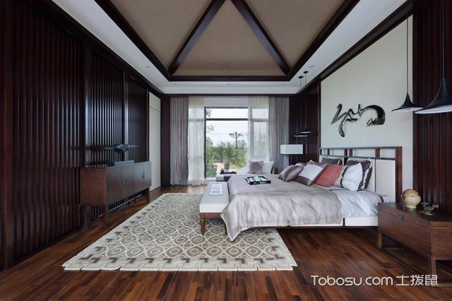 大别墅设计成新中式风格非常有意境_装修图片