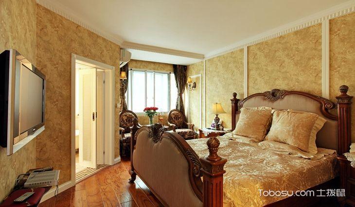 2021古典卧室装修设计图片 2021古典背景墙装饰设计