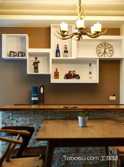 2021复古餐厅效果图 2021复古餐桌装修图片