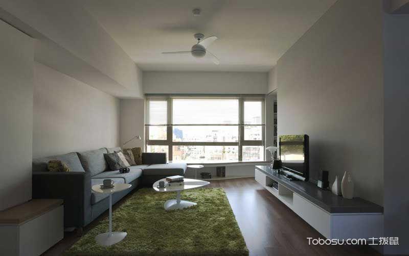 简约风格小户型83平米室内装饰
