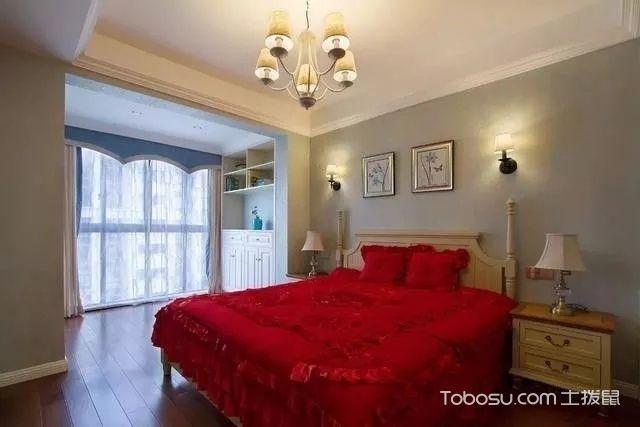 99平小美式婚房,休闲舒适_装修图片