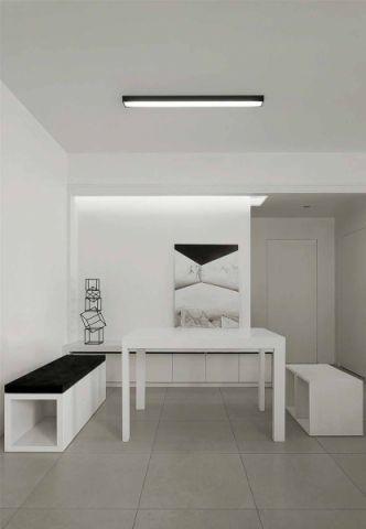 自然白色餐桌装修案例
