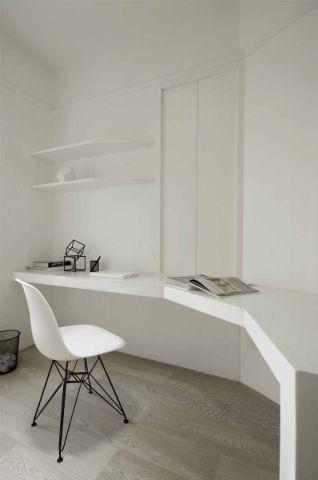 书房书桌简约装修设计