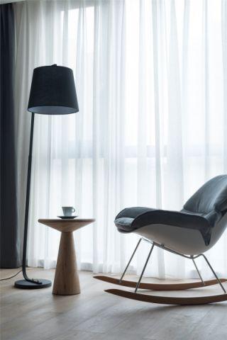 卧室窗帘现代简约实景图