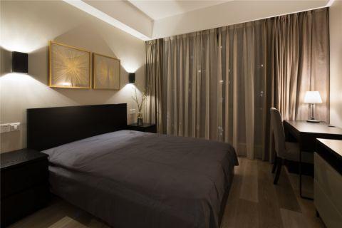 2020现代简约卧室装修设计图片 2020现代简约窗帘装修设计图片