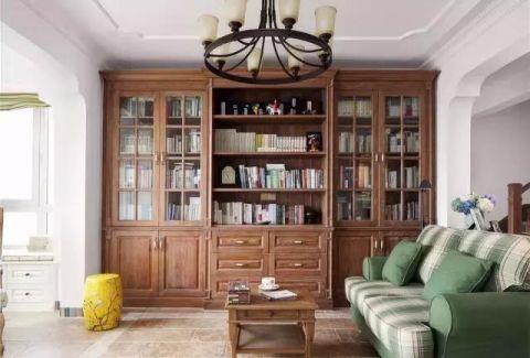 设计优雅绿色书房装修案例